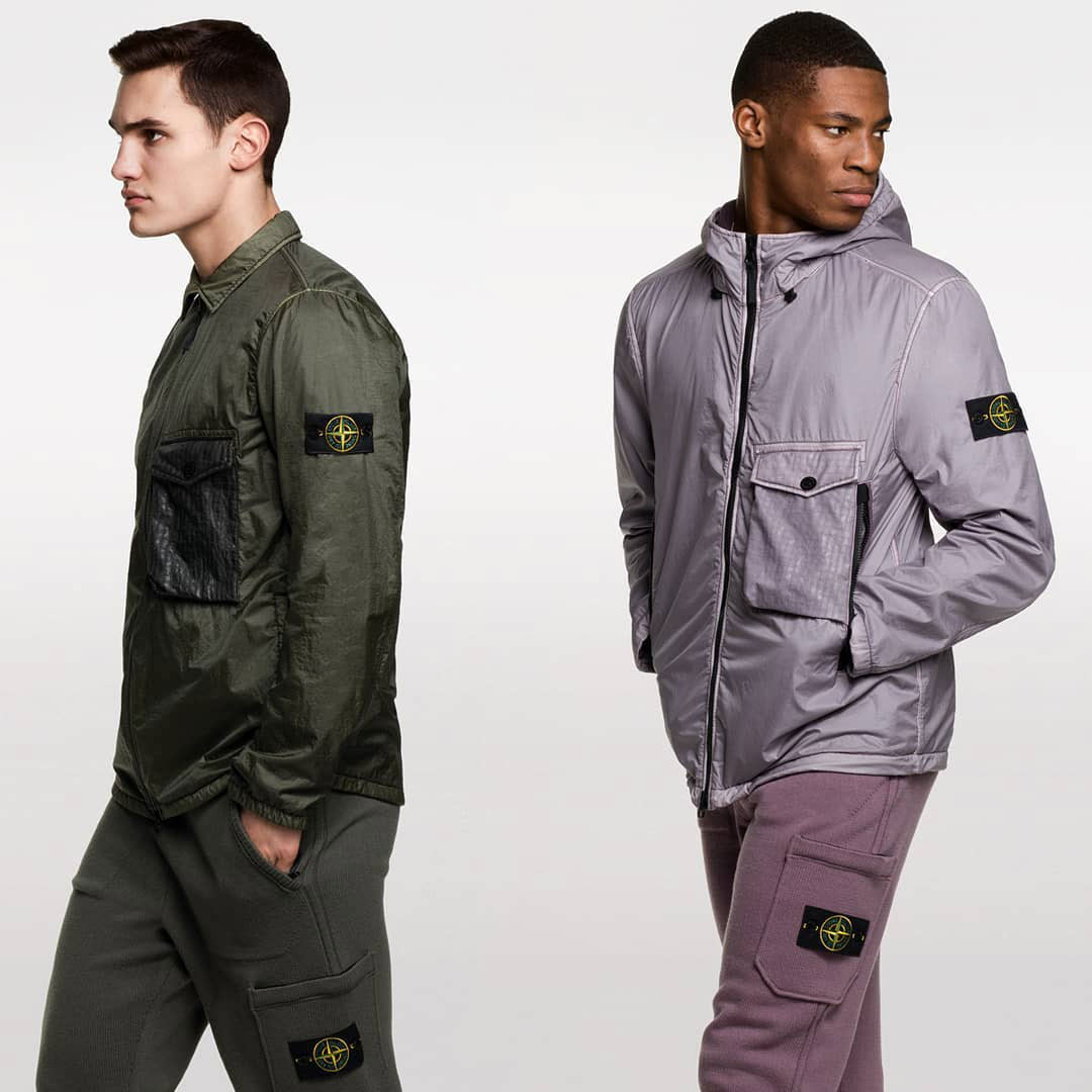 New items by Stone Island
